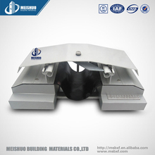 Architectural aluminum plate watertight roof expansion joints design