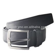 81 Black Simple Leather Belts For Men With Medium Classical Buckle