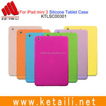 Made in China For iPad mini 3 Soft Silicone Tablet PC Case Manufacturer
