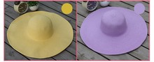 wholesale infant children kids baby sombrero plain blank paper straw sun hat beach summer hat