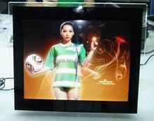 acrylic HD digital photo album 19 inch led