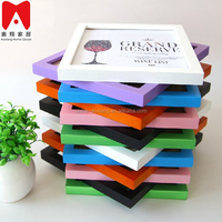 2015 Hot Sale Plastic Picture Frame 4x6 5x7 8x10 small plastic craft frame