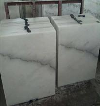 Buen precio piso de mármol blanco patrón