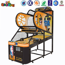 Qingfeng one-stop service factory price 2015 new basketball machine arcade shooting game machine