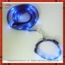 2015 hot selling china supplier pet leads LED dog leash