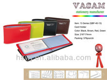 made in china wholesale Colorful leather ,PU credit card holder, credit card bag