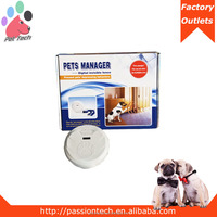 New stylish wireless dog fence for indoor with LCD display