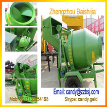 large supply mobile type Chinese portable concrete mixer