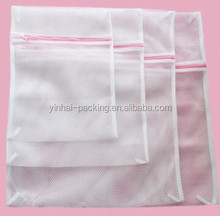 wholesale polyster mesh laundry zipper bags
