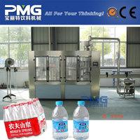10000BPH 500ml PET bottle Automatic 3-in-1 drinking water bottle filler