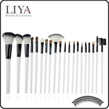 Horse Hair 20pcs china Makeup Brush Set Professional beauty kits with bag