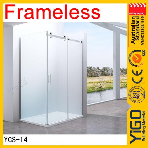 Small Shower Screen Sliding Glass Shower Doors