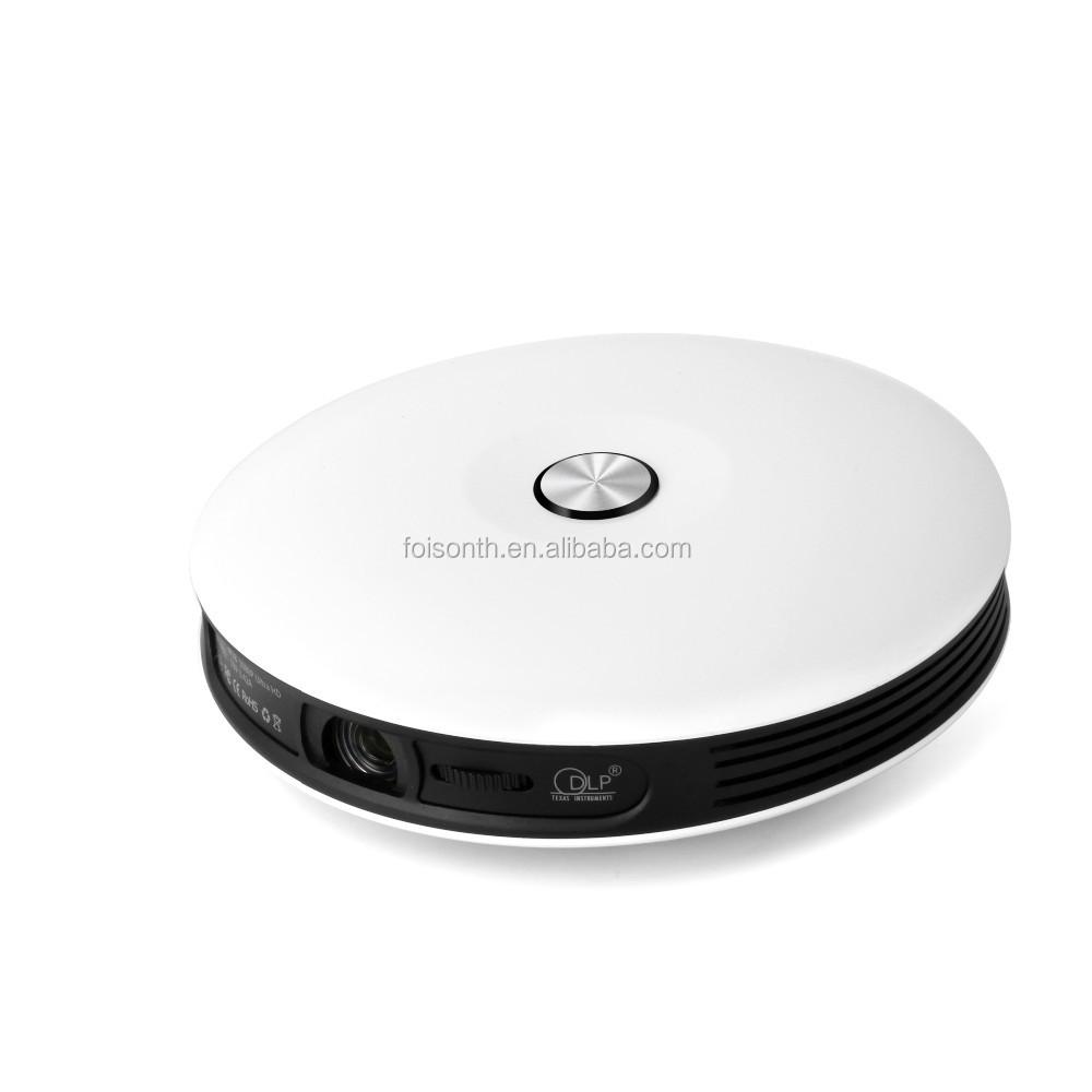 Full HD WiFi 3D  Mini Smart Pocket Multimedia Projector for Home/Office/Church Projector