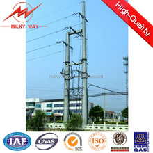 11kv electric telescoping pole 1000 dan for power transmission