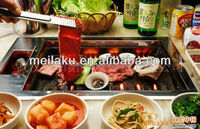 The new infrared heater Korean restaurant table bbq grill /smokeless/stainless steel/use for restaurant/1000W/ CE,UL/110V~240V