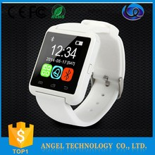 W2-U8-MTK6260 touch screen bluetooth phone call camera mobile watch phone price list, watch type mobile phone