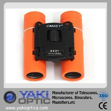 Waterproof Orange Color 8*21 Binoculars 131m/1000m Style