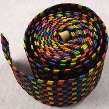 high quality fashionable handmade braided leather belt weave belt