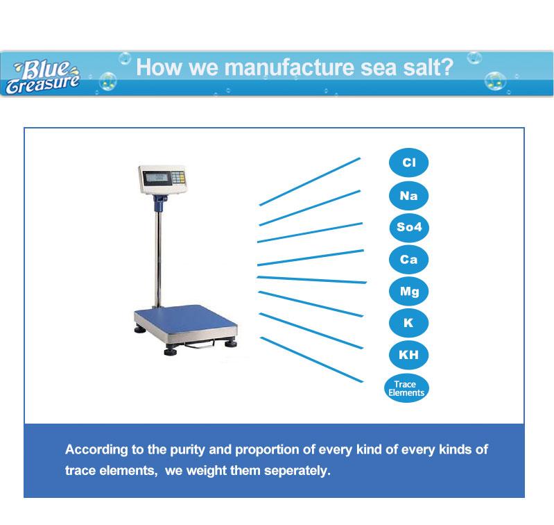 High Quality Aquarium Saltwater Food Grade Marine Salt Ph