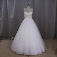 2015 real picture of expensive ball gown wedding dress gown