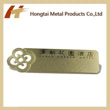 New Design Hot Sale Gold plating Lapel pin/name tag/name card