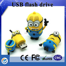 Hot new products for 2019 minions 64gb usb 2.0 flash drive for promotional gift