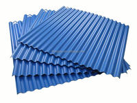 Laminated roof panels/trapezoid roof sheet/roof system