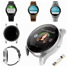 Smart bluetooth watch Heart Rate Monitoring + NFC + MP3&MP4 + Pedometer&Calorie Counter + FM + Voice Recorder + Calculator