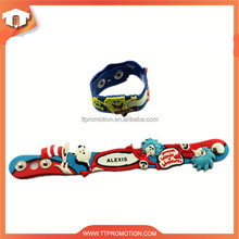best brand debossed silicone wristbands for promotional gift