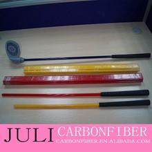 Fibra de carbono y fibra de vidrio Golf tubo, 2015 de la alta calidad caliente de la venta más popular de fibra de carbono palos de Golf