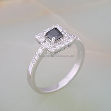 2015 newest design gemstone rings 925 sterling silver rings, fashion jewelry