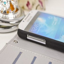 Wallet Stand Bling Crystal Diamond Leather Case Cover For Samsung Galaxy and for apple iphone