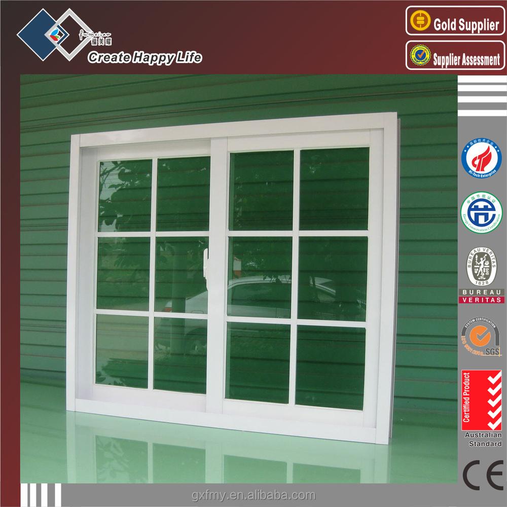 2014 best price aluminium window grills design for sliding for Best glass for windows
