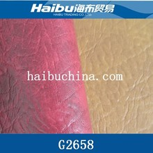 import fabric China PVC leather automotive