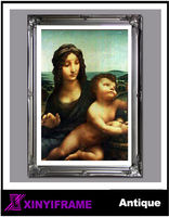 Religious traditional photo frame wood frame muslim picture frames