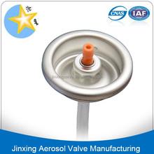 1 inch Snow spray aerosol valve/1 inch Aerosol Valve for snow spray/Snow aerosol valve and actuator/powder aerosol valve