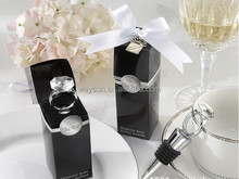Wedding Favors - With Diamond-Ring Wine Bottle Stopper Hot wedding shower gift