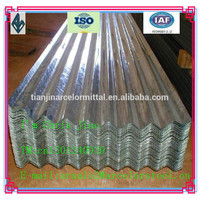 Zinc Coated Corrugated Roofing Tile/Corrugated Steel Sheet made in china