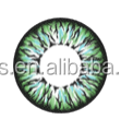 Promotion Eclipse Rainbow big eyes korea contact lens 16mm yearly contact lenses