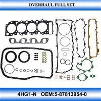 For 4HG1-N engine gasket set full set gasket kit