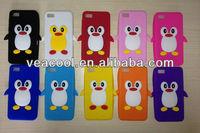 3D Penguin Silicone Back Cover Case for BlackBerry Z10 BB10