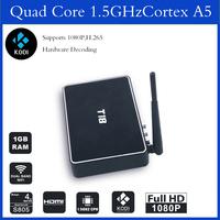 Hottest All Aluminum Case Amlogic S802 Quad Core Android T8 TV BOX XBMC/Kodi 13.2 Ful Loaded