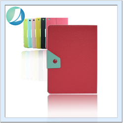 New design custom leather cover bumper case for ipad 3