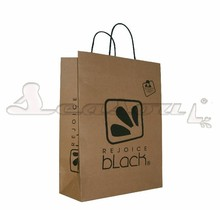 cheap custom kraft paper bag with your own logo