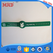 MDSW11 smart id card wristband rfid custom silicon wristband
