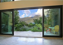Australian standard double glazed insulated soundproof aluminium glass sliding doors interior and exterior