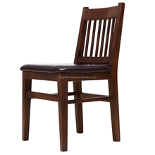 MXD10 Dark brown dining chair,wood restaurant dining chair