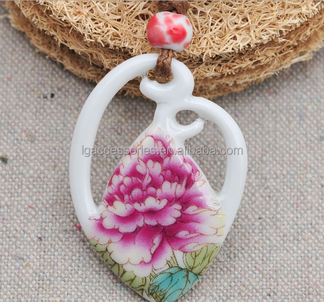 Porcelain Pendants Wholesale Porcelain Pendant Necklace