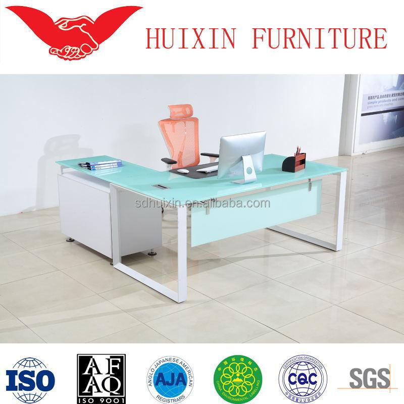 modern furniture china glass top office desk buy modern
