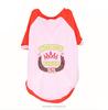 pink dog t shirt /wholesale plain dog t-shirts / dog clothes